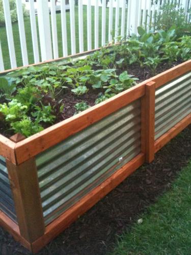 Hochbeet Als Stauraum Für Gartenabfälle Die Parzelle